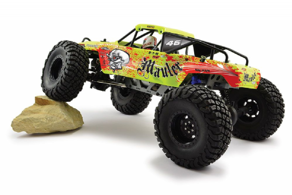 FTX Mauler 4wd RTR Rock Crawler (yellow)